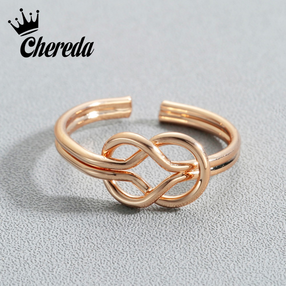 Chereda Double Hollow Round Cross Ring Adjustable Double Hot Selling Jewelry For Women Men 2018 Finger Ring Accessories