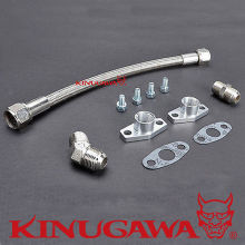 Kinugawa Turbo Oil Drain Line Kit 50cm 8AN for IHI RHF5 RHF5H RHF55