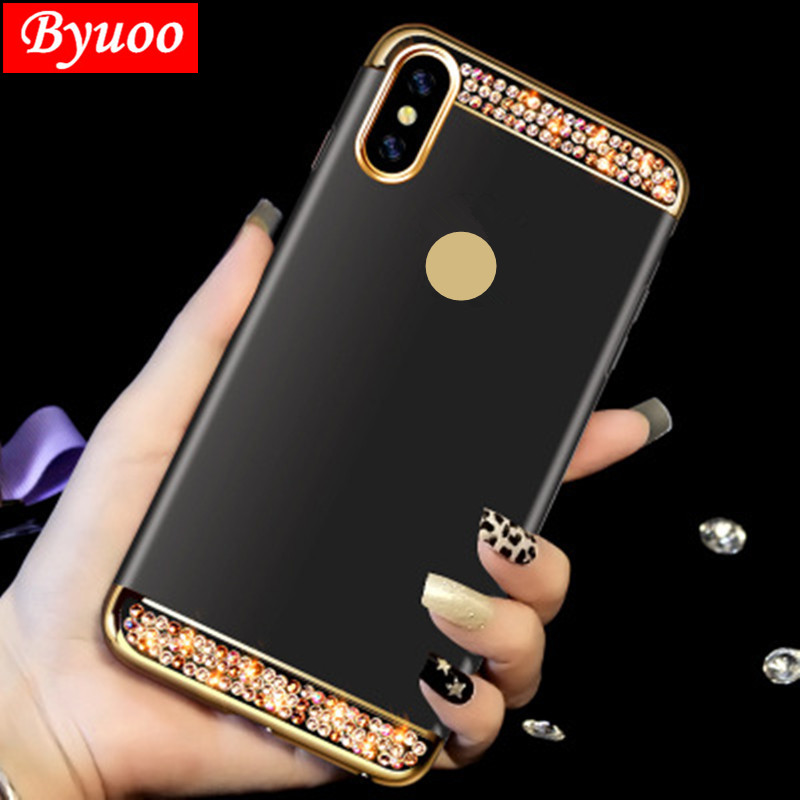 3 In 1 Crystal Phone Case Cover For Huawei P20 Honor 9 Lite Case P Smart P10 Plus Mate 20 10 Lite Coque Honor 10 6c 8 Pro 7c 7a Discounts Sale