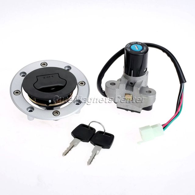 Motorcycle Ignition Switch Lock Fuel Gas Cap + Keys for RF400 RF600 RF900 RGV250 Gamma VJ21 VJ22 VJ23 GSX750 GSX600 VX800