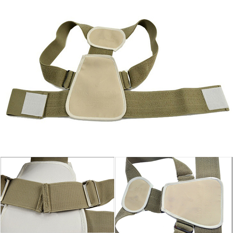 Children Adjustable Shoulder Support Flexible Posture Corrector Back Belt Braces Support Body Back Rectify Shoulder