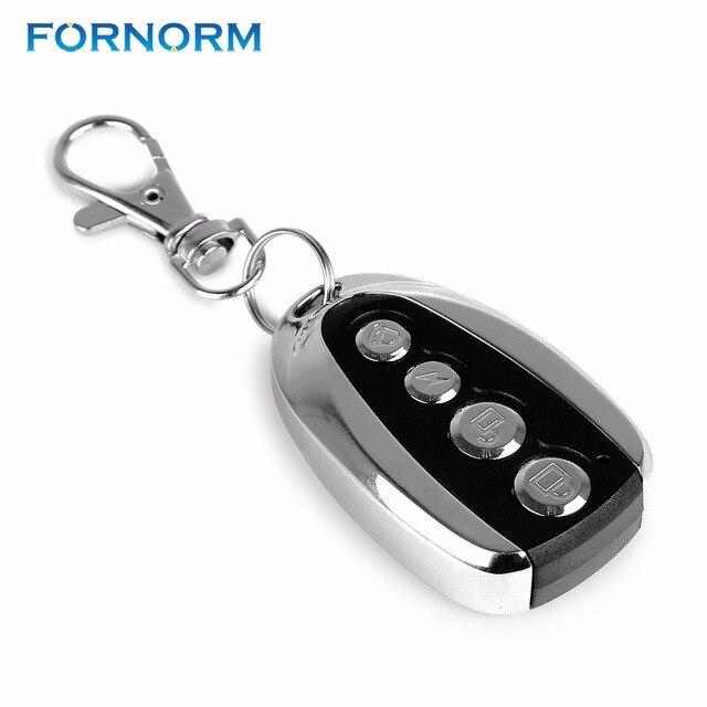 FORNORM Universel Sans Fil MHz Auto Télécommande Contrôleur - Telecommande porte de garage universelle
