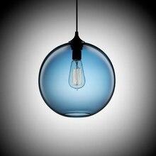 Antigüedad de La Vendimia de Loft Industrial 6 Color Bola De Cristal Colgante Luces Accesorios de la Cocina del Restaurante Comedor/Salón Bar Cafetería