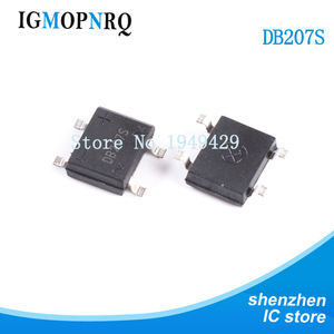 10PCS/LOT DB207 SMD B207 DB207S SMD SOP Bridge Rectifiers 1000V 2A