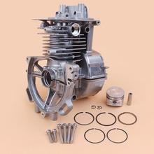 35MM Crankcase Engine Motor Housing Piston Rings Kit For Honda GX25 GX25N GX 25 Mini Engine Motor HHT25S Gas Trimmer Brushcutter цена