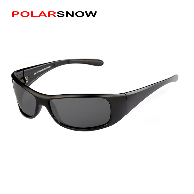 POLARSNOW 2018 New Fashion Sport Sunglasses Men Polarized UV400 Coating Mirrored Driving Fishing Sun Glasses Oculos PS8604
