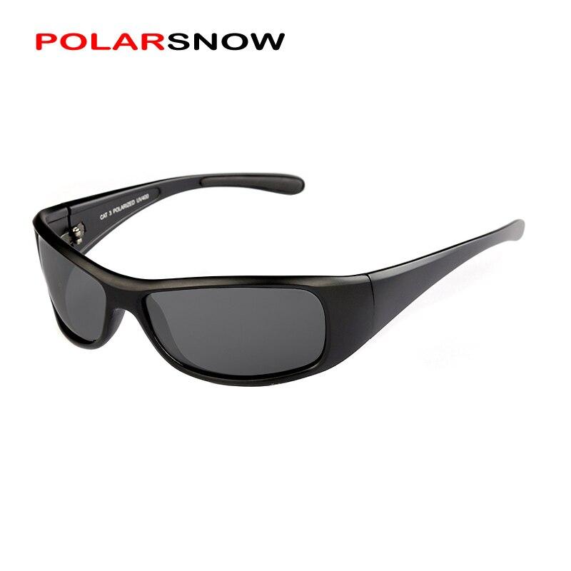 POLARSNOW 2019 Neue Mode Sport Sonnenbrille Männer Polarisierte UV400 Beschichtung Gespiegelt Fahren Angeln Sonnenbrille Oculos PS8604