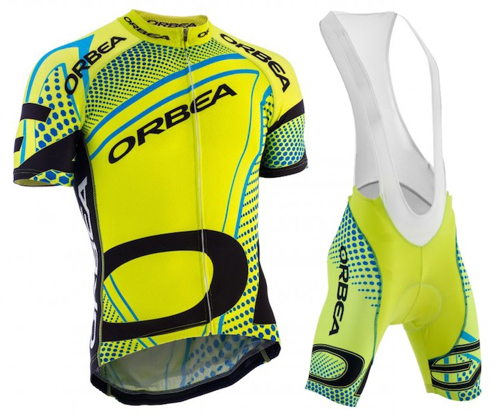 2017 ORBEA Mens Summer Jersey Suit Breve Jersey Ciclismo Vestiti Usura Della Bici Breathable and quick-drying cycling clothing ...