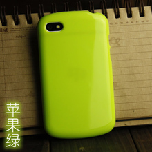 FOR BlackBerry Q10 soft cover case solid Color silicon TPU anti-knock case For BlackBerryQ10