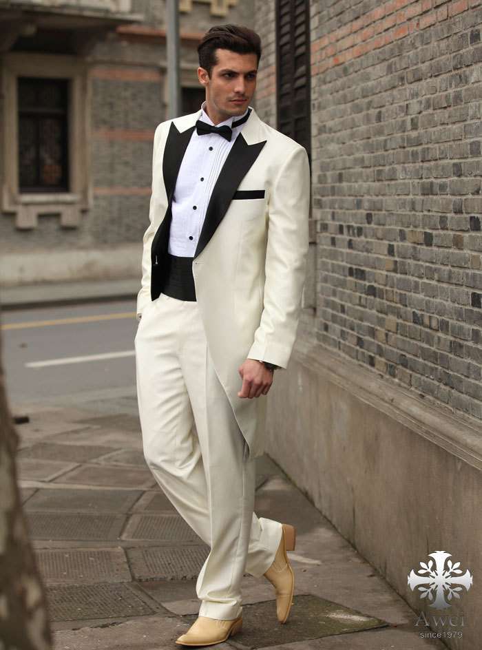 White Suit For Prom - Ocodea.com