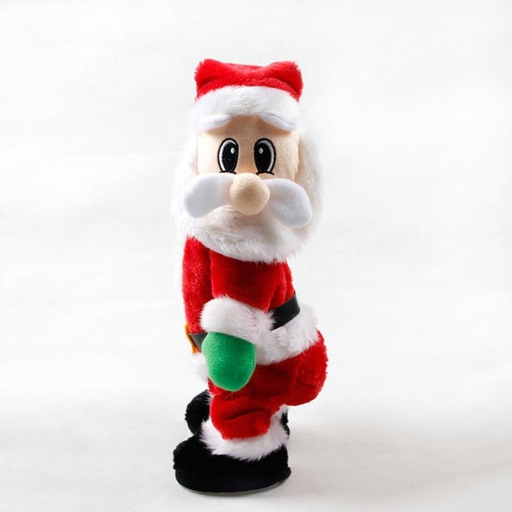 Comprar Nova Natal Elétrica Papai Noel Boneca De Brinquedo Dançando