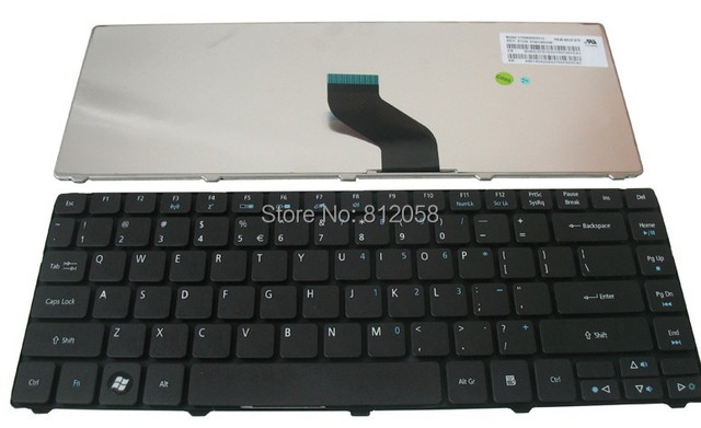 Original Nuevo Teclado Del Ordenador Portátil EE.UU. para Acer Aspire 4745  4745G 4745Z