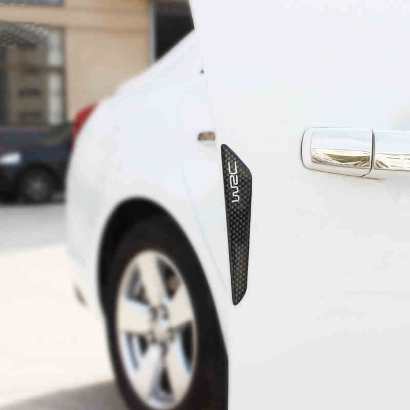 lsrtw2017 carbon fiber car door bumper for kia rio 2017 2018 2019 2020 k2 in Interior Mouldings from Automobiles Motorcycles