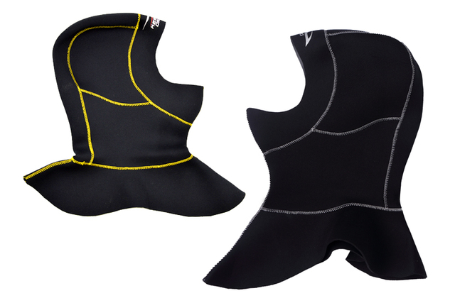 3mm Neoprene Scuba Diving Hood With Shoulder Snorkeling Equipment Hat Cap Winter Swim Warm Wetsuit Spearfishing