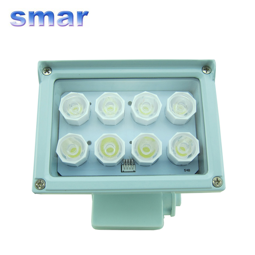Lamp Led-Array-Illuminator Cctv-Camera Night-Vision Security 12V 8 For 20-40m 8W 100%Brand-New