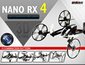 World premiere Remote Control Toys R/C Nano RX4 4-Axis RC Quadcopter with 6-Axis Gyro 4 Combination Pattern Helicopter