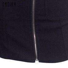 Suede Skirt Fashion High Waist Zippers JKP343