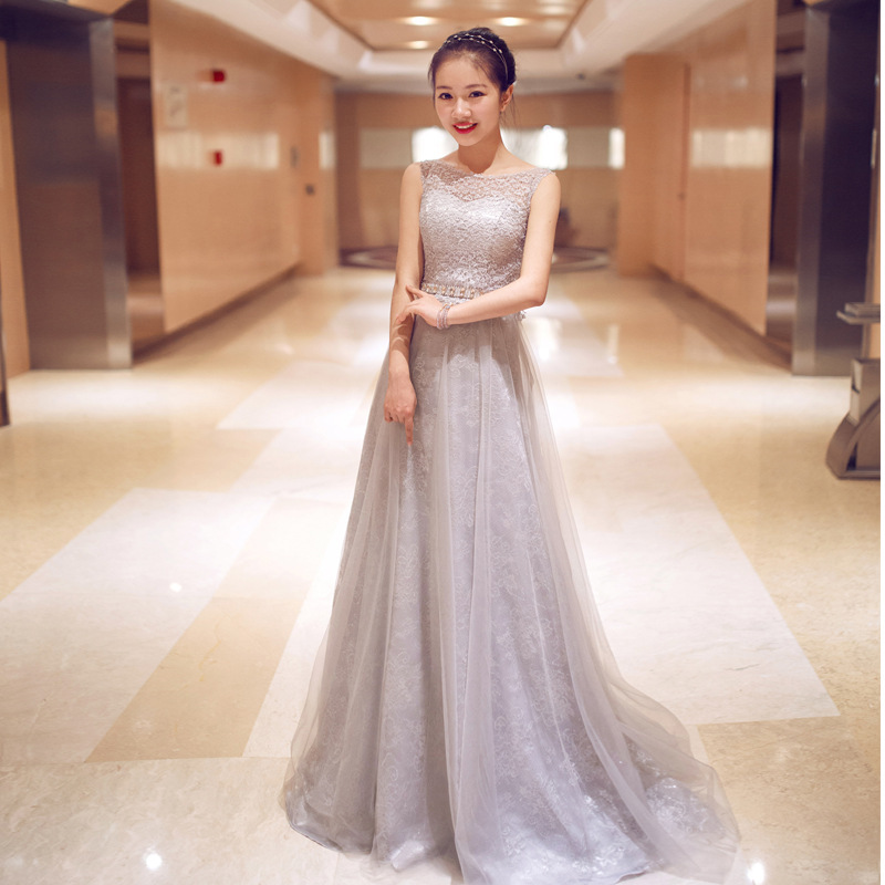 2015 New Fashion Lace Evening Gowns Party Dresses Women Elegant Long ...
