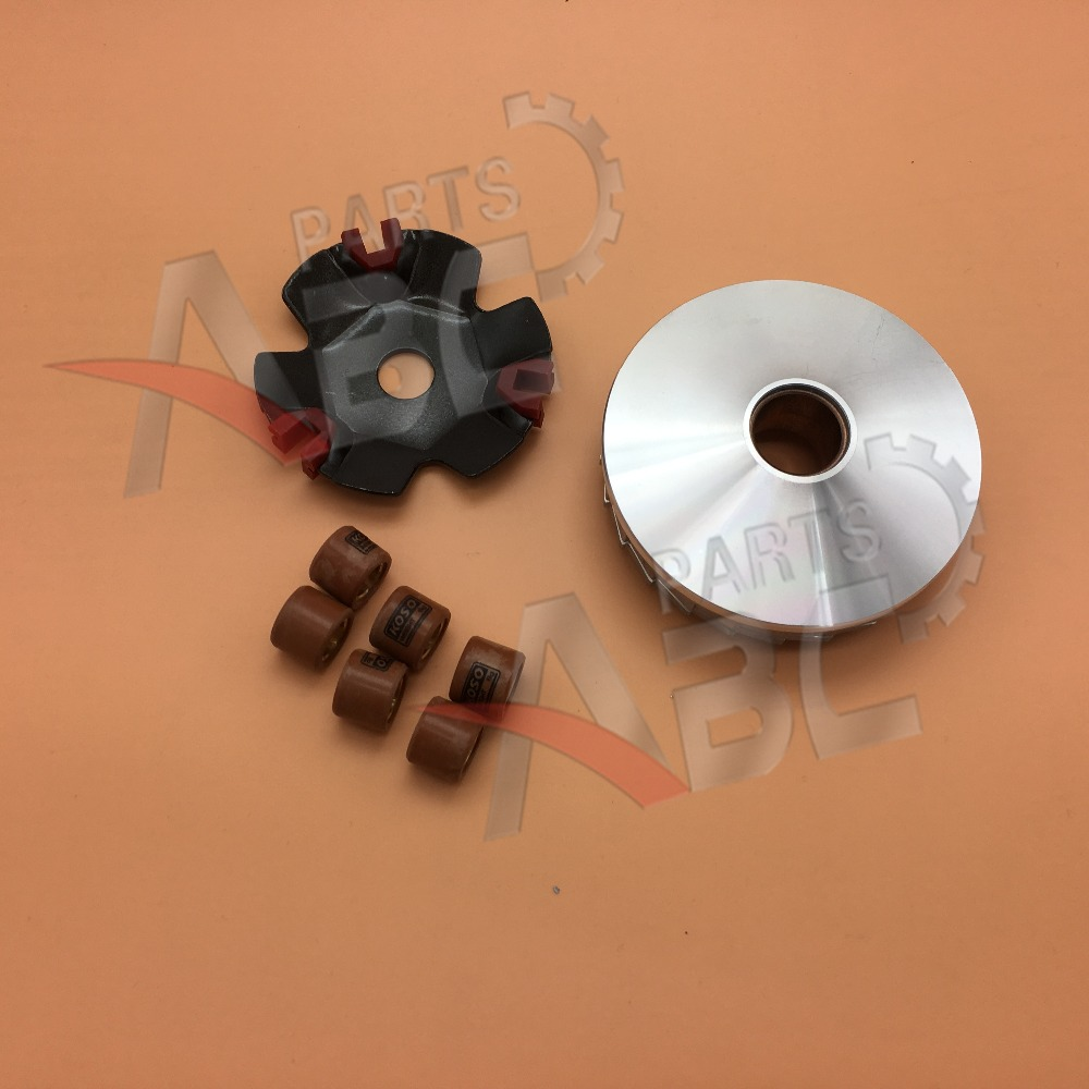 Scooter Moped Go Kart Roller Fan Clutch Variator Engine For GY6 49cc 50cc  ATV