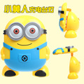 Despicable Me 2 Minions USB charging charging desk lamp night light folding flip 180 degree turn cartoon eye energy-saving lamp