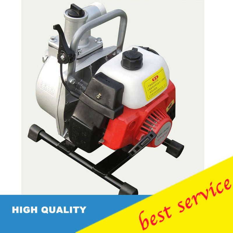 IE40 6 1inch Max Lift 30m Two Stroke Gasoline Water Pump Protable Agricultural Irrigation Pump