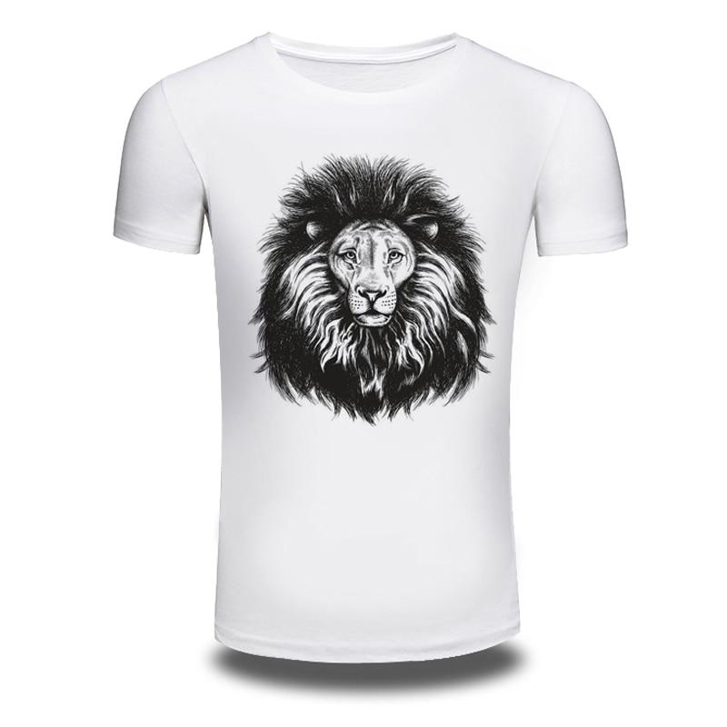 dbc38dbe52 DY-119 Lion King wild t shirts personalized t-shirt men's cotton short  sleeves tshirts clothes camisetas riverdale t-shirt