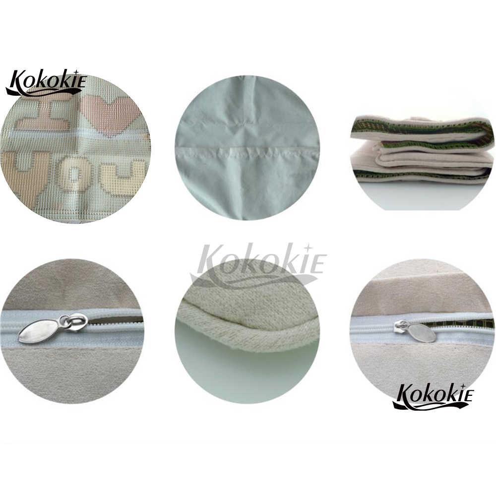 Handwerk borduurpakketten borduurwerk handwerken sets haak en klink kits liefde hart gedrukt kussen borduren garen tapijt