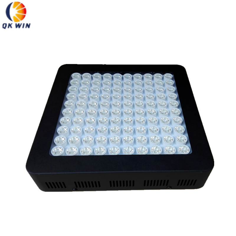 Qkwin Best 1000W LED Grow Light 100x10w double chip 200W built with lens Full Spectrum for Hydroponic Planting shipping