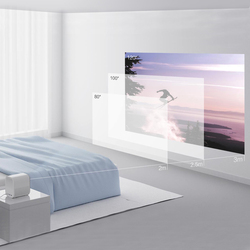 Xiaomi Mijia przenośny mini projektor zamontować projekcji projektor 1080 p 500 lumenów ANSI MIUI TV HDR10 2.4G/5 WiFi dla kina domowego 5