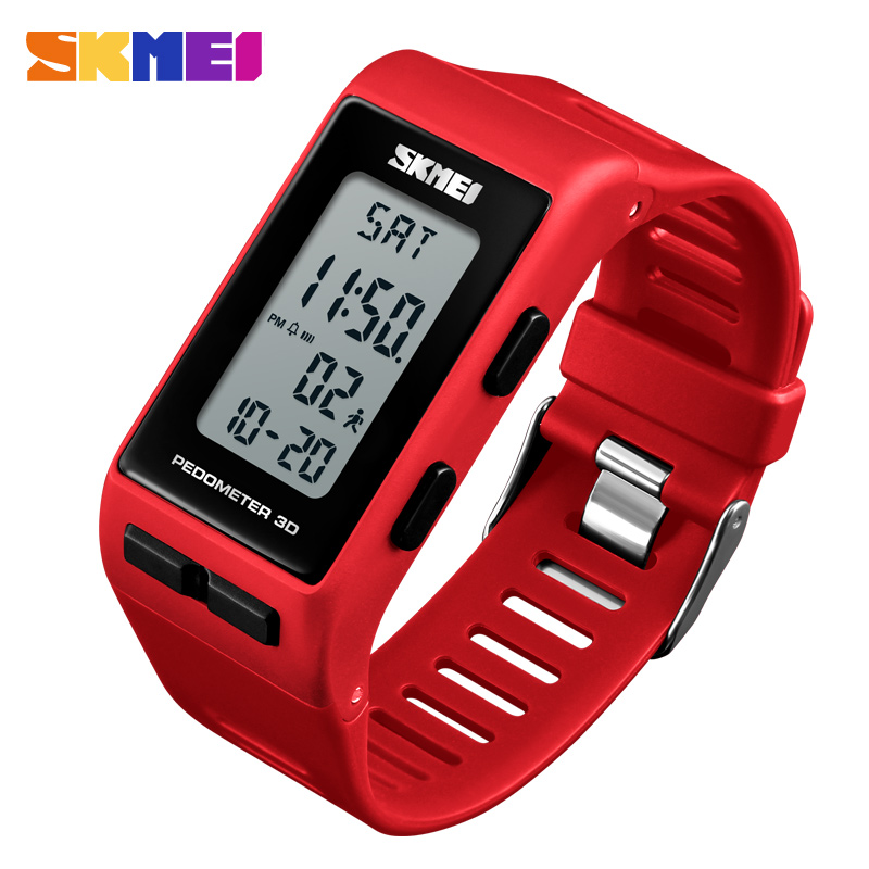 SKMEI Sport Watch Woman Outdoor Sport Luxury Calculate Caloriesc Chronograph Stopwatch Ladies Wristwatches Relogio Feminino 1363