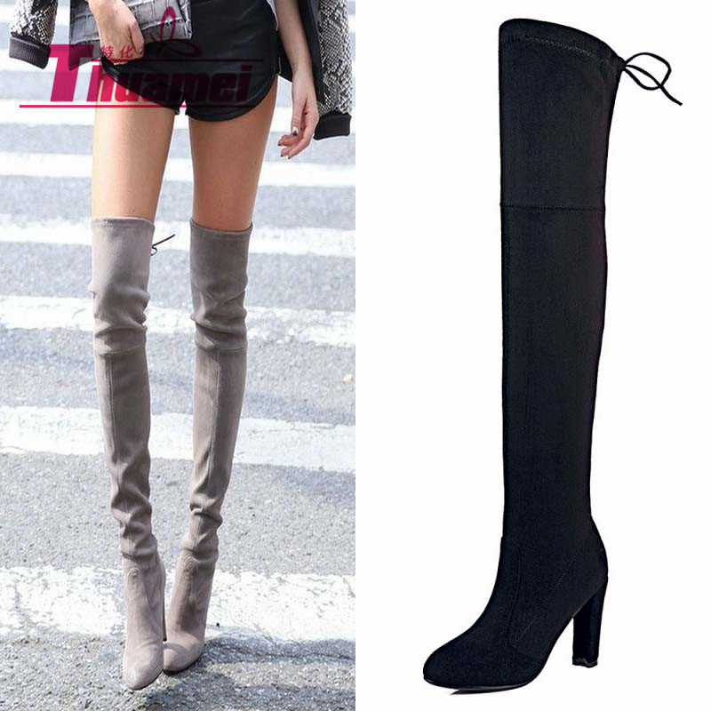 Popular Knee High Boots-Buy Cheap Knee High Boots lots from China ...