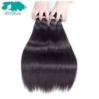 Allrun Pre-Colored Peruwiański Proste Włosy 3 sztuk/partia 100% Ludzkie Włosy Wyplata Wiązek Darmowa Wysyłka Miękkie Natural Color Peru włosy