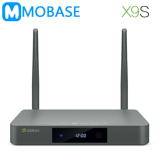 ZIDOO X9S Android 6.0 TV Box Realtek RTD1295 Quad Core 2 Г/16 Г HDMI OUT/В КОДИ Smart TV Русский Иврит Европа IPTV Media Player