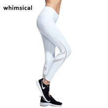 Whimsical Yoga Sports Leggings For Women Sports Tight Mesh Yoga Leggings Comprehension Yoga Pants Women Running Tights Women