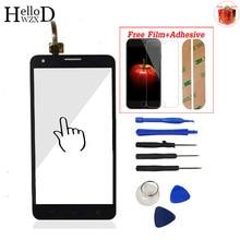 Pour Huawei Honor 3X G750 Écran Tactile Avant Verre Digitizer Panneau Écran Tactile Lentille Capteur Livraison Adhésif + Protecteur D'écran Cadeau