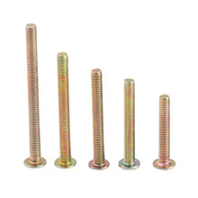 10Pcs M4 Handle Screws Phillips Pan Head Self-Tapping and Bolts Fastener * 25mm/30mm/35mm/40mm/45mm Length
