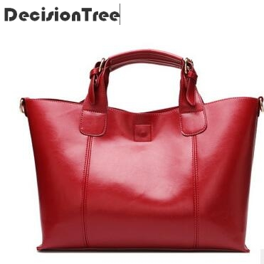 New Fashion Women Shoulder Bags Luxury Genuine Leather Female Big Tote Casual Bags Ladies Handbag Large Capacity Crossbody Bag