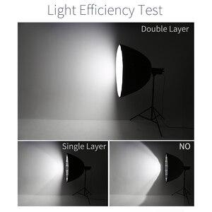 Image 5 - AMBITFUL Portable P120 120CM Installation rapide boîte à lumière parabolique profonde Bowens Flash Speedlite réflecteur Studio Softbox