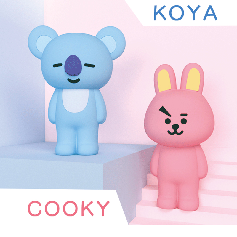 Q ONKEL Kpop Bangtan Boys BTS BT21 Korea Mann der Team Multi Funktion Weichen Silikon Geschenk Cooky Bleistift Fall für 4,7 zoll Telefon