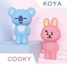 Q дядя Kpop Bangtan Boys BTS BT21 Корея Мужская команда Multi Функция мягкий силиконовый подарок Cooky пенал для 4,7 дюймов телефон