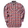 СТРАХ БОЖИЙ рубашки мужчины джастин бибер фланель Шотландия плед с длинным рукавом рубашки марка Хип-Хоп продлен негабаритных Мужчины Хлопчатобумажную рубашку 5
