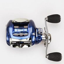 Baitcasting Reel 12+1BB 6.2:1 Bait Casting Fishing Reel centrifugal brake Water Drop Wheel Coil