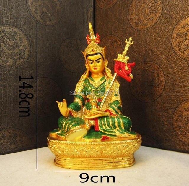 buddha statue nepal process 12 cm green tara buddha copper and gold