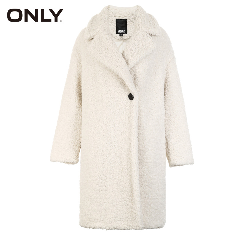 Image 4 - ONLY Autumn winter jacket women Faux Fur Coat Casual  teddy Bear Overcoat  118322512Faux Fur