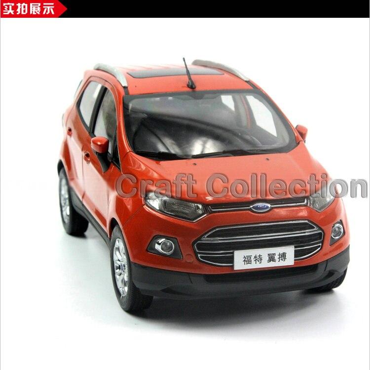 ФОТО 1:18 Ford Ecosport ECO SPORT SUV Classic toys Mini Car Brinquedos Diecast Mini Car
