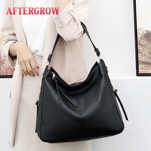 Large Hobos Bag Women Soft PU Leather Totes Female Good Quality Handbag For Ladies Cross Body Shoulder grand sac a main
