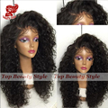 Fast shipping Curly synthetic lace front wig heat resistant for black women kinky curly synthetic wigs with baby hair