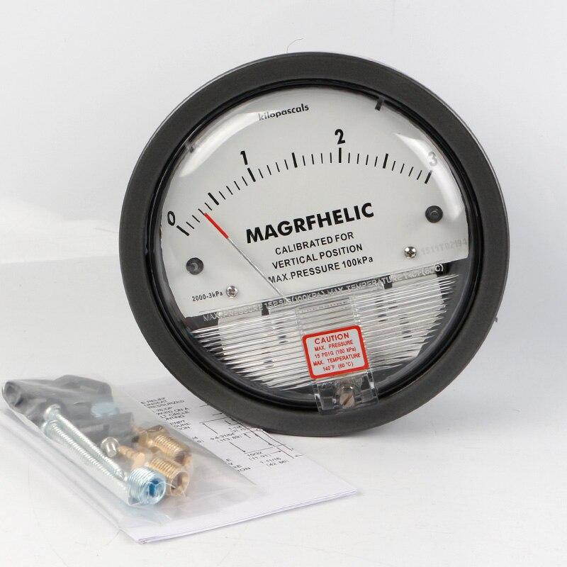 TE2000 0-3kpa Micro Differential Pressure Gauge High от Aliexpress INT
