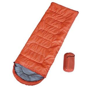 Image 5 - Campin Sleeping Bag 220 *75 Cm Cold proof Sleeping Bags Waterproof  Envelope Sleeping Bag Mat Outdoor Ultralight Thickened Mat
