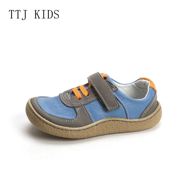 COPODENIEVE New Boys Leather Shoes British Style School Performance Kids Wedding Party Shoes Black Casual Children Moccasins